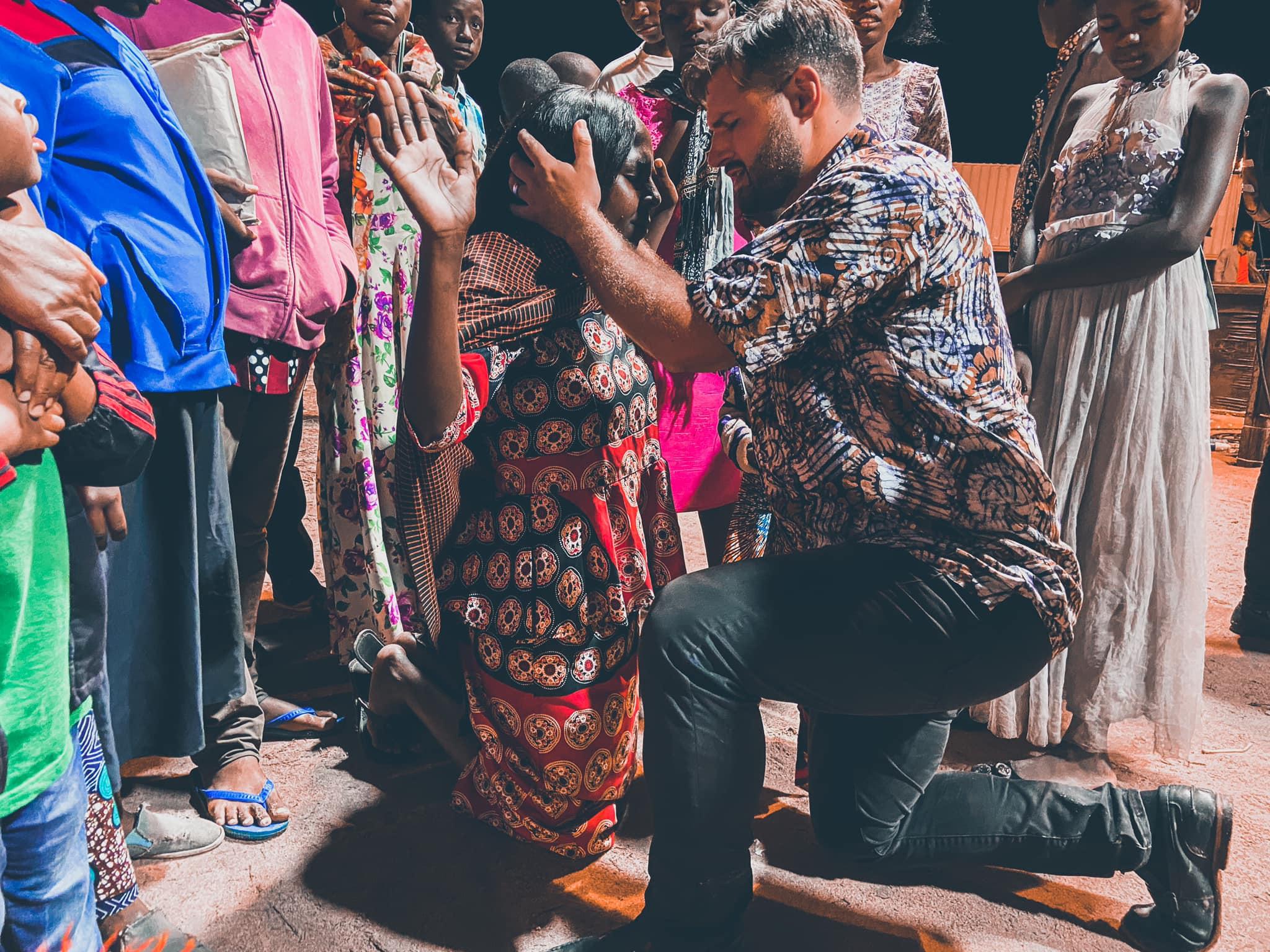 Singida-Praying-Over-Woman